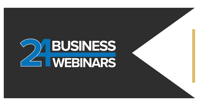 AC Power Room Brand Ribbon 24 Business Webinars Left