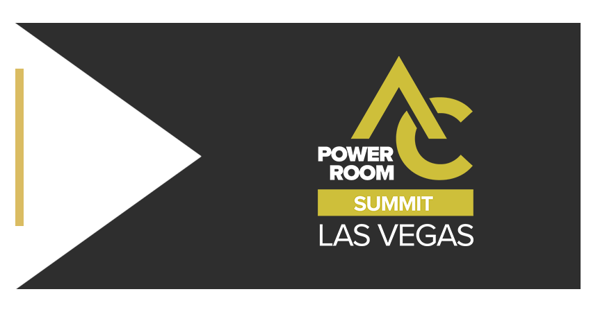 AC Power Room Brand Ribbon PR Summit Las Vegas Right
