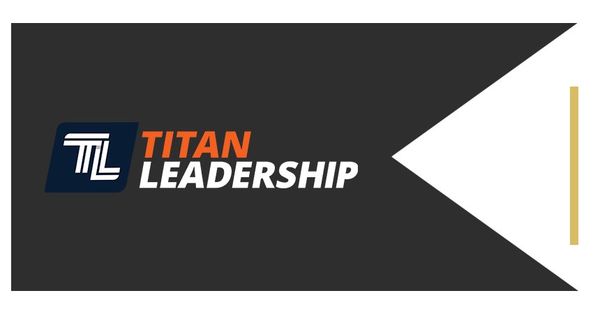 AC Power Room Brand Ribbon Titan Leadership Light Left